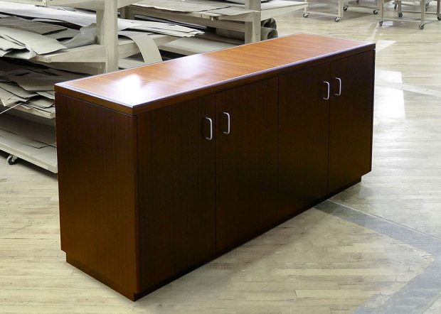 Zynex Custom Matching Wood Credenza