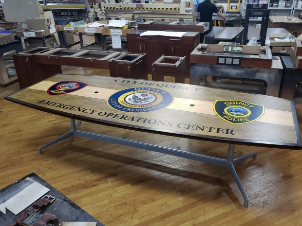 City of Quincy Conference Table