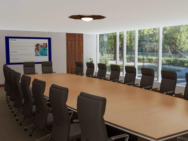 Norwood Modern Boardroom Table