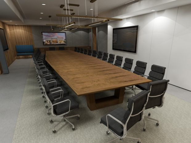 Toll Brothers Modern Conference Table