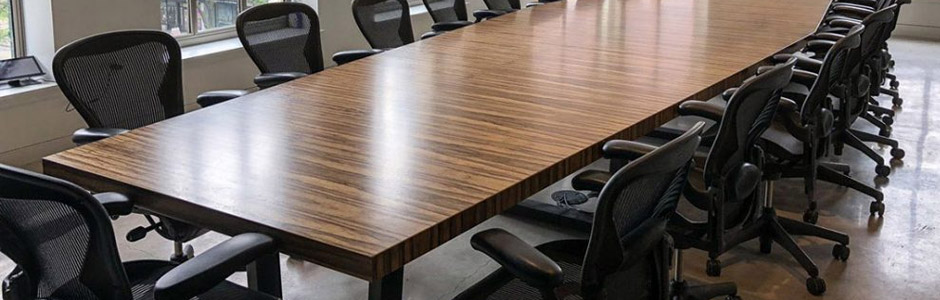 Custom Conference Room Table Size and Seating