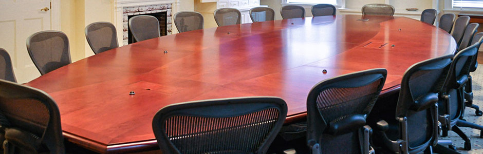 Custom Large Conference Table