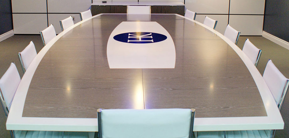 Custom Conference Room Tables by Number of Seats