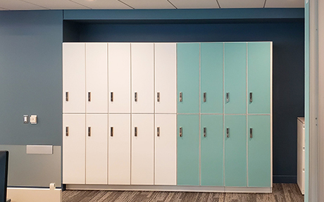 custom storage lockers