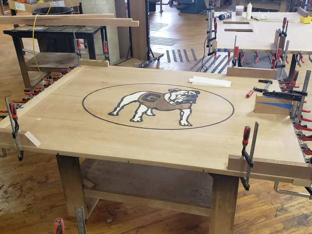 University of Georgia Football Conference Table