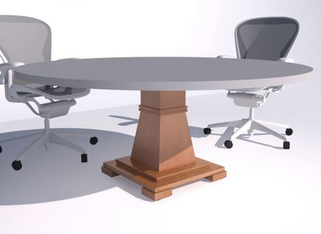 Round Country Club Table Base