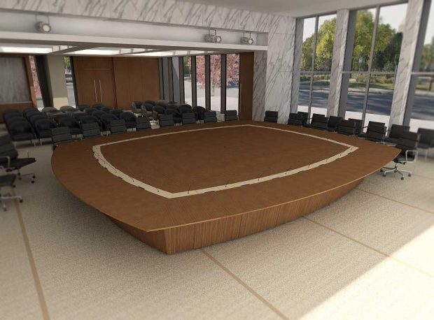 Conference Table with AV