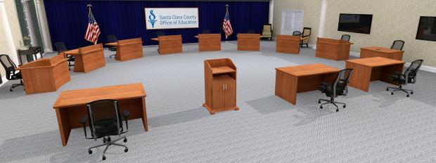 Santa Clara Social Distancing Committee Table