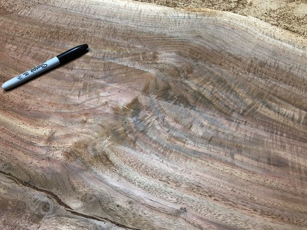 slab solid wood