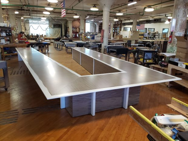 Textron Reconfigurable Conference Table