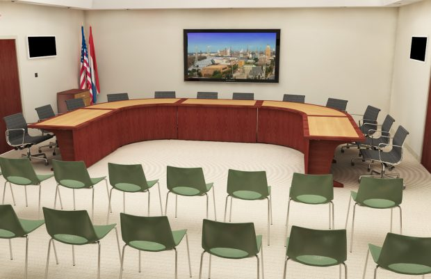 reconfigurable committee table