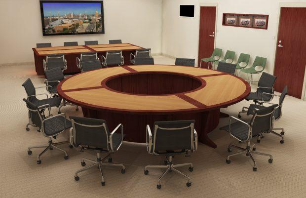 circular modular table