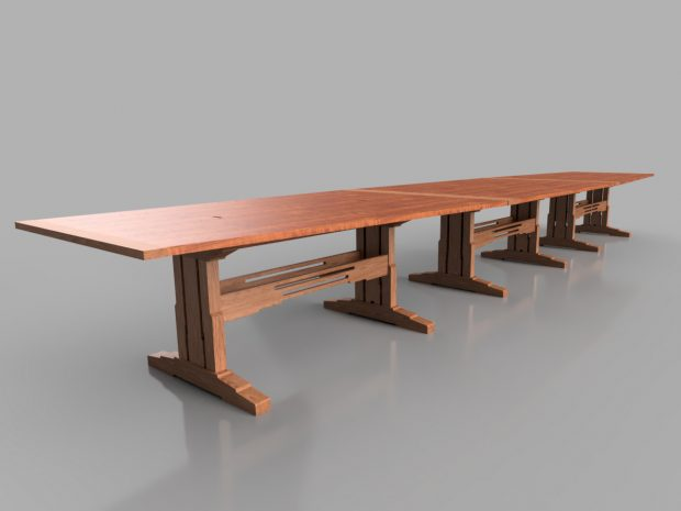 traditional modular tables