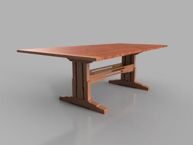 custom traditional table