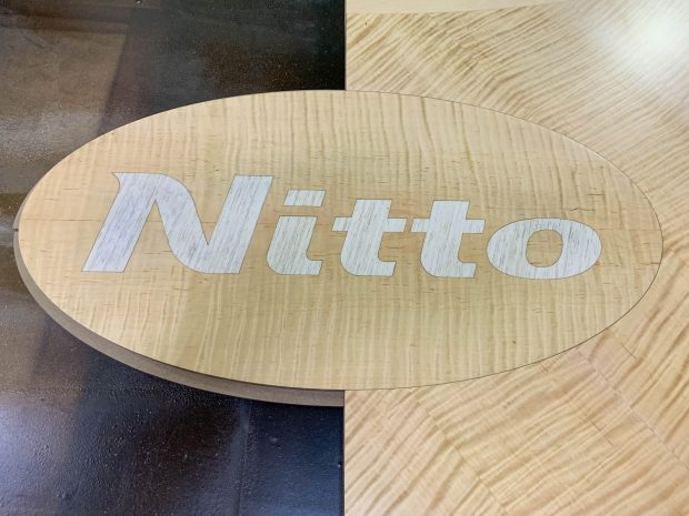 custom logo conference table