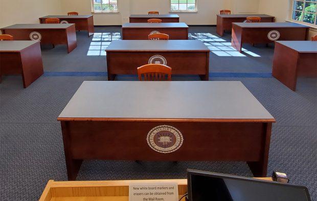 Classroom modular tables