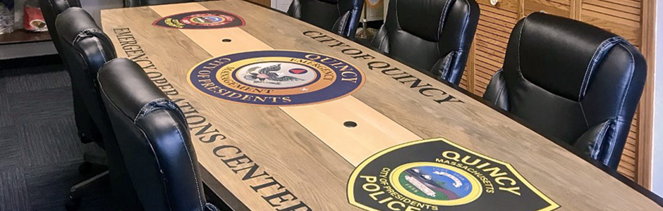 Custom Conference Table for the City of Quincy
